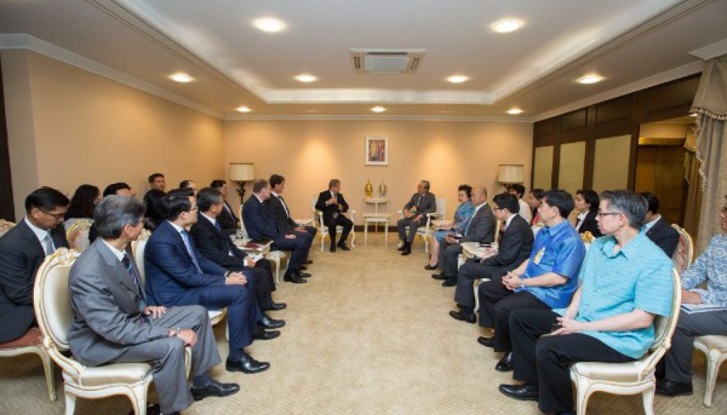 TEBA meets Deputy Prime Minister of Thailand, Dr. Somkid