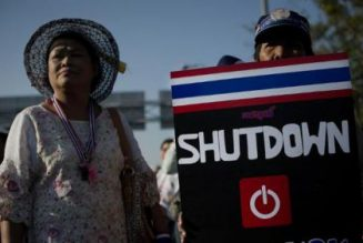 TEBA: Bangkok Shutdown – 14 January 2014