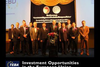 Conference on Thailand Investment opportunities in the European Union