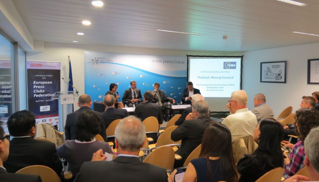 TEBA hosts Executive Business discussion in Brussels