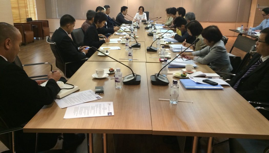 TEBA Members Meet Ministry of Commerce Permanent Secretary