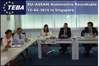 1st EU-ASEAN Automotive Roundtable- 13th February 2014