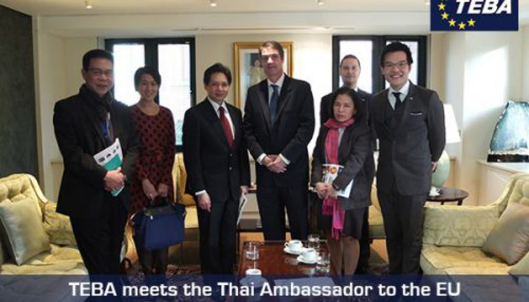 TEBA meets Thai Ambassador to EU