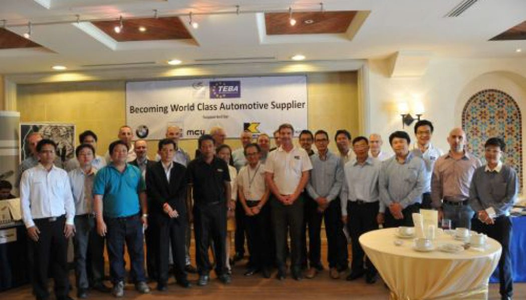 Workshop: World Class Automotive Supplier – Manufacturing