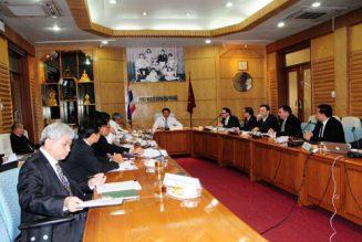 TEBA members meet Minister of Transport, H.E. Chadchart Sittipunt