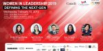 Women in leadership 2019: Defining the Next Gen on Feb. 13th, 2018 from 11.00am - 15.00pm